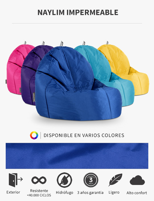 Puff Lounge Naylim Impermeable