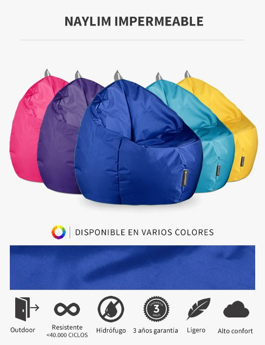 Puff Junior Naylim Impermeable