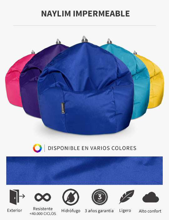 Puff Pelota Naylim Impermeable de HAPPERS