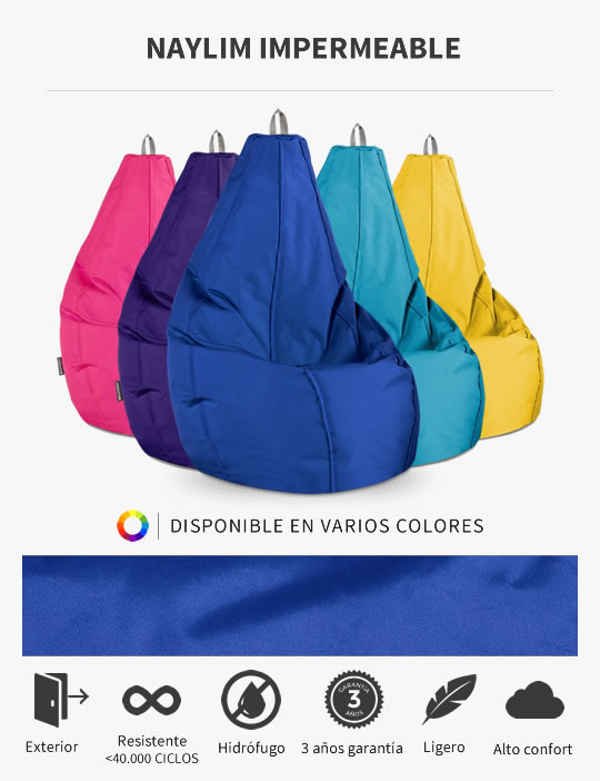 Puff Pera Naylim Impermeable de HAPPERS