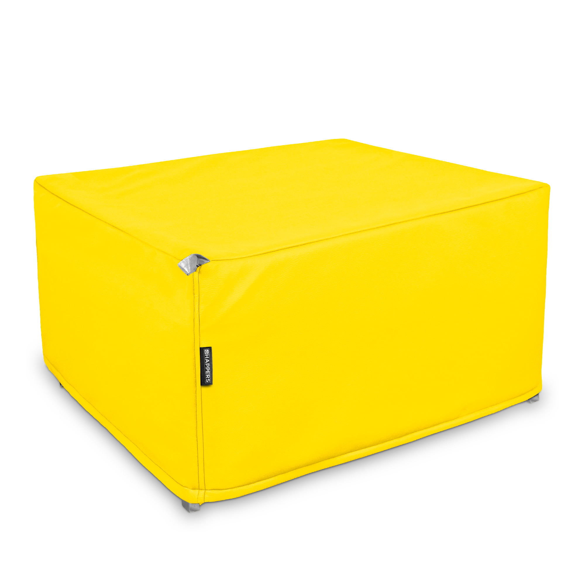 Puff Cama Somier plegable Polipiel Indoor Amarillo en puffdepera.com