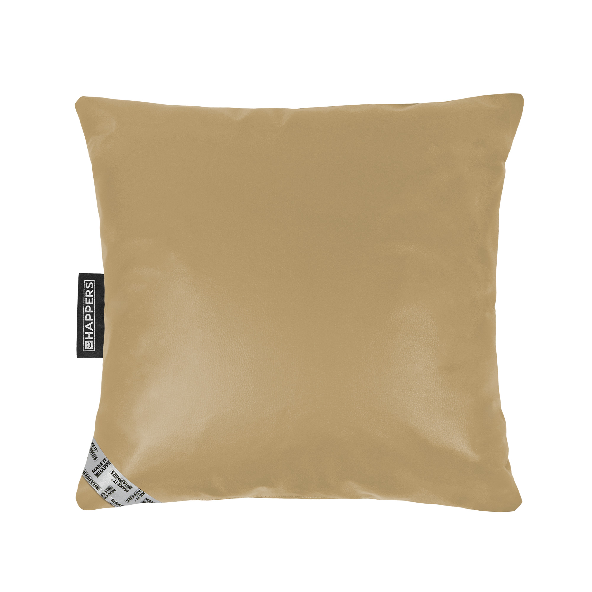 Cojín 45x45 Polipiel Indoor Beige Happers | Happers.es