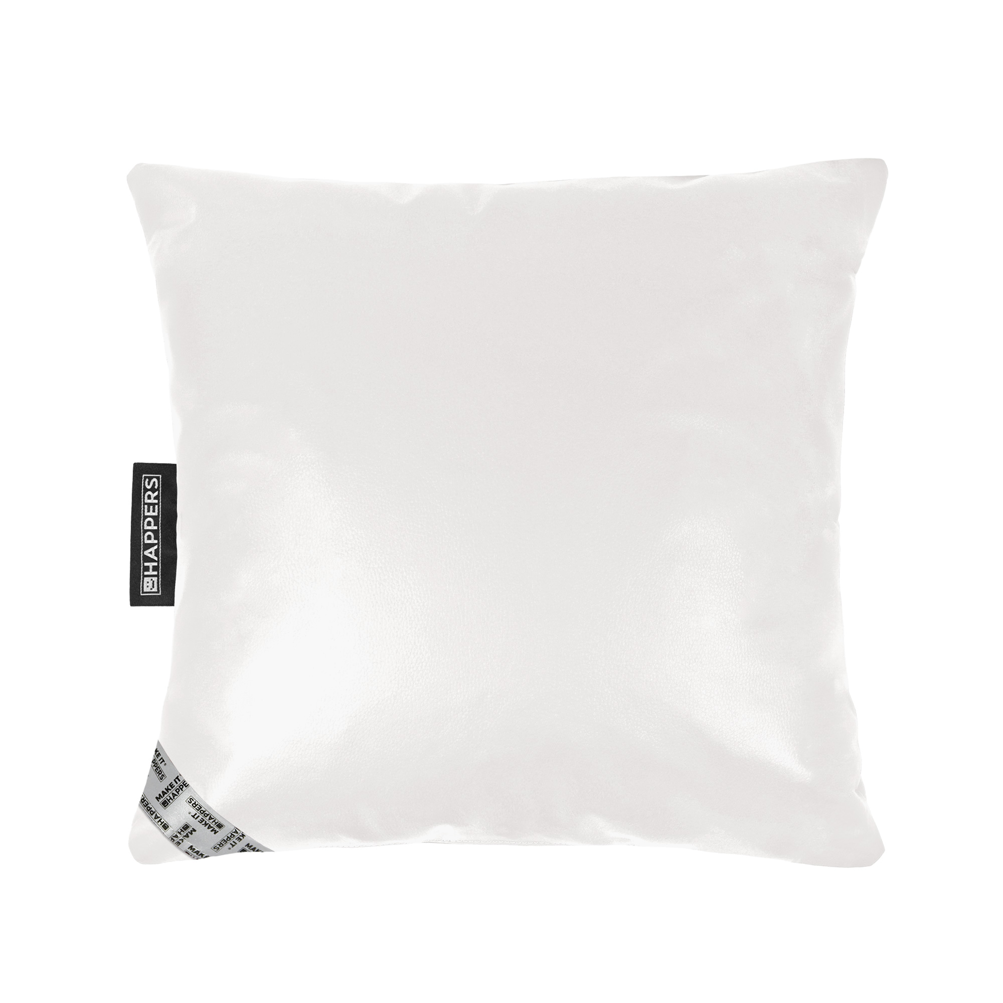 Cojín 45x45 Polipiel Indoor Blanco Happers | Happers.es