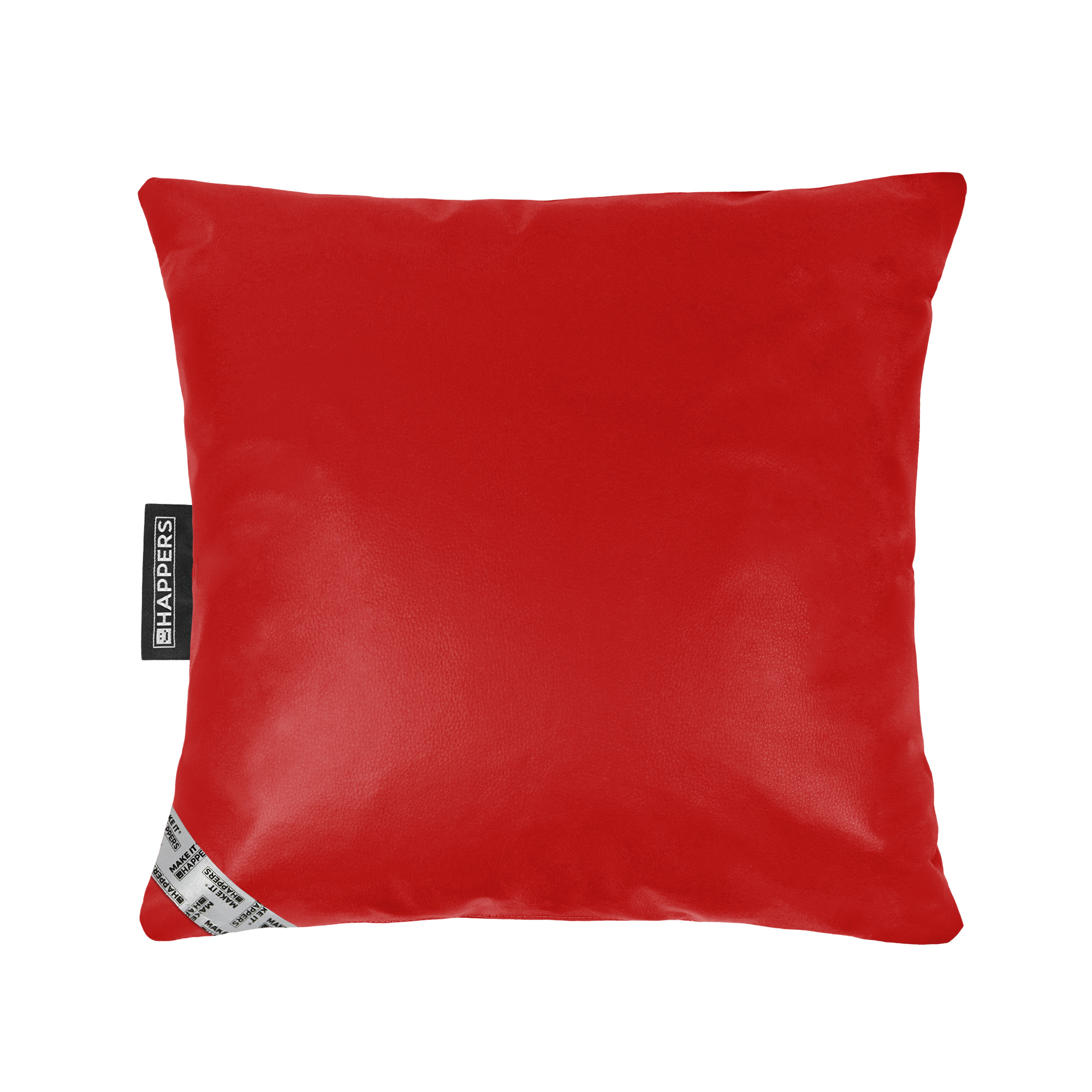 Cojín 45x45 Polipiel Indoor Rojo Happers | Happers.es
