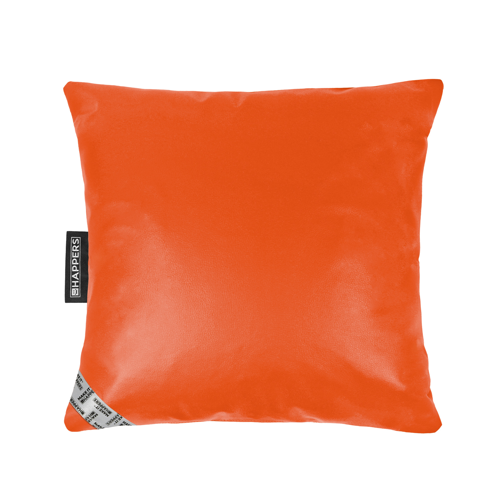 Cojín 45x45 Polipiel Indoor Naranja Happers | Happers.es