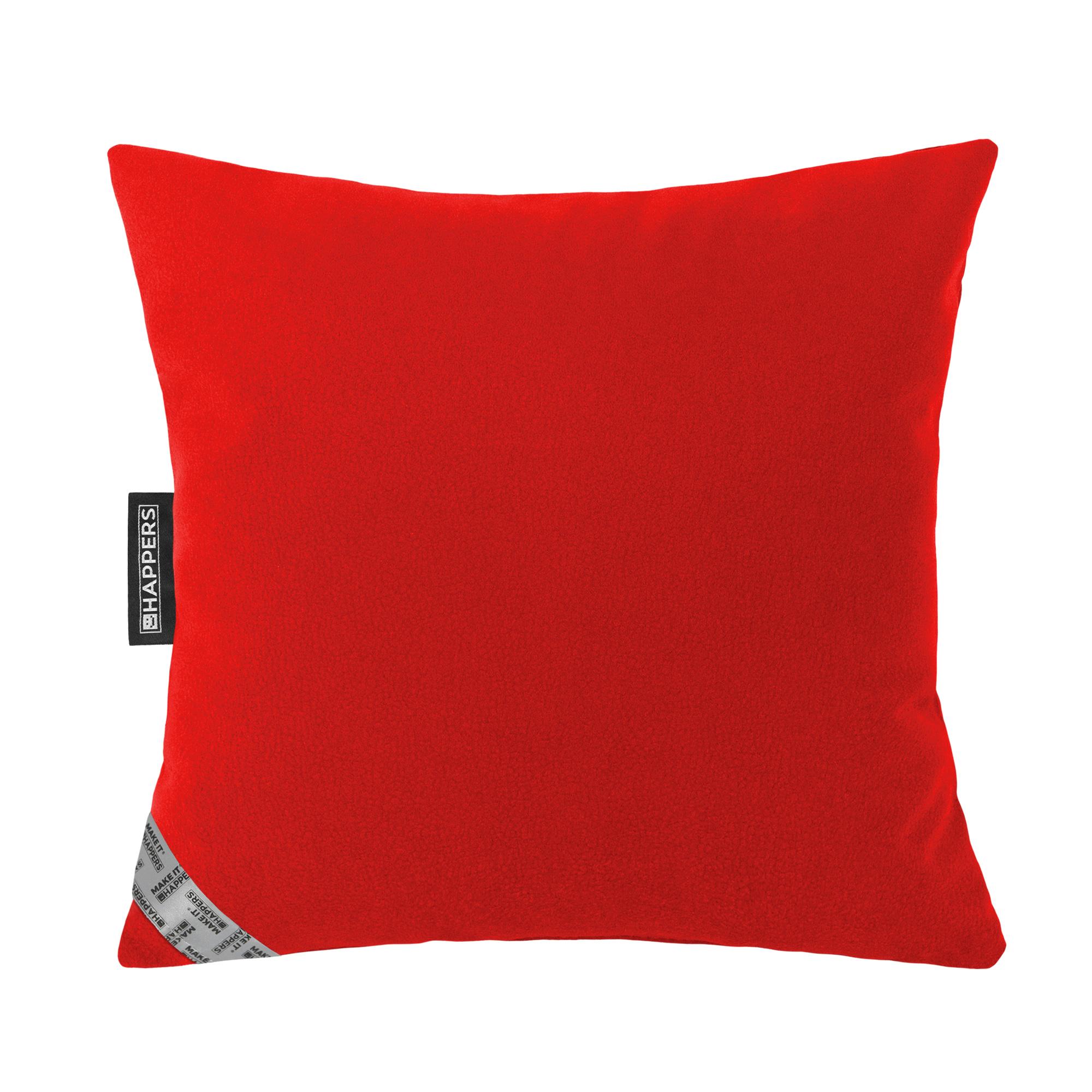 Cojín 45x45 Aquaclean Carabú Rojo en puffdepera.com