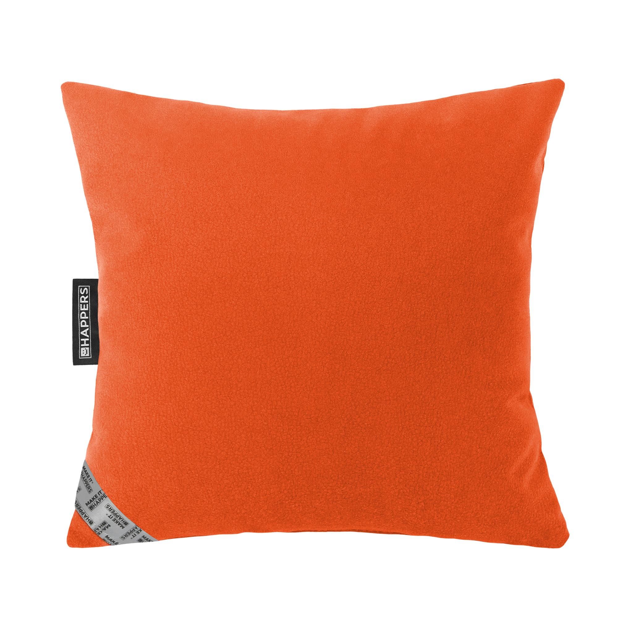 Cojín 45x45 Aquaclean Carabú Naranja Happers | Happers.es