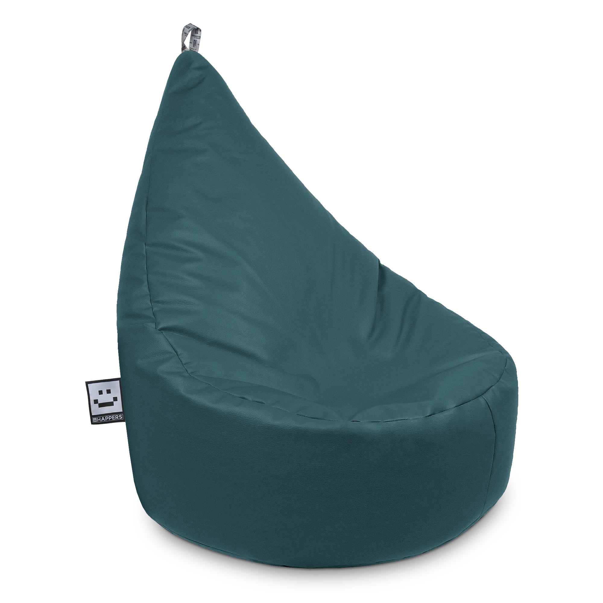 Puff Butaca Polipiel Indoor Glaciar XL Happers | Happers.es