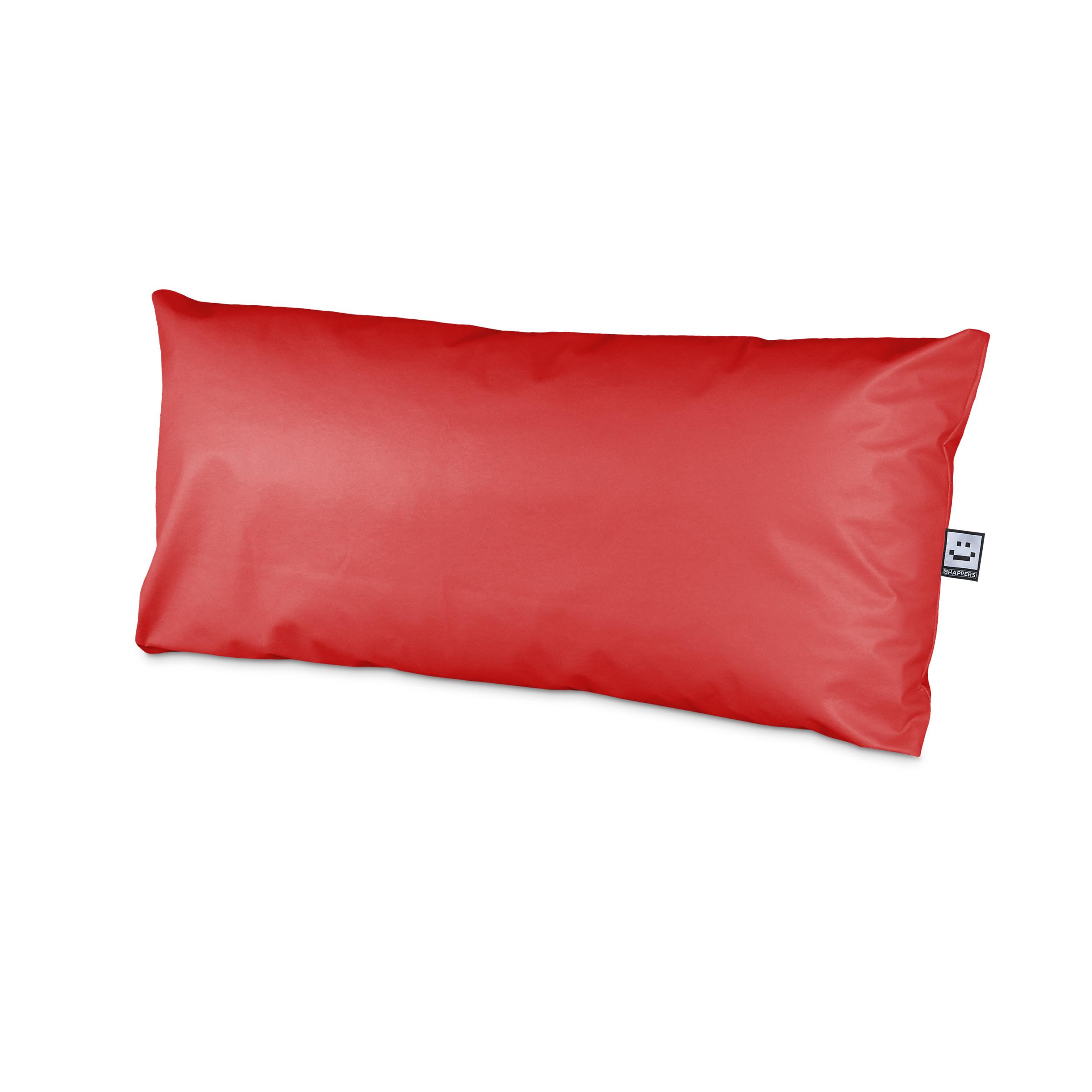 Set de Cojines Impermeables y Desenfundables para Palet en Polipiel Rojo (1)
