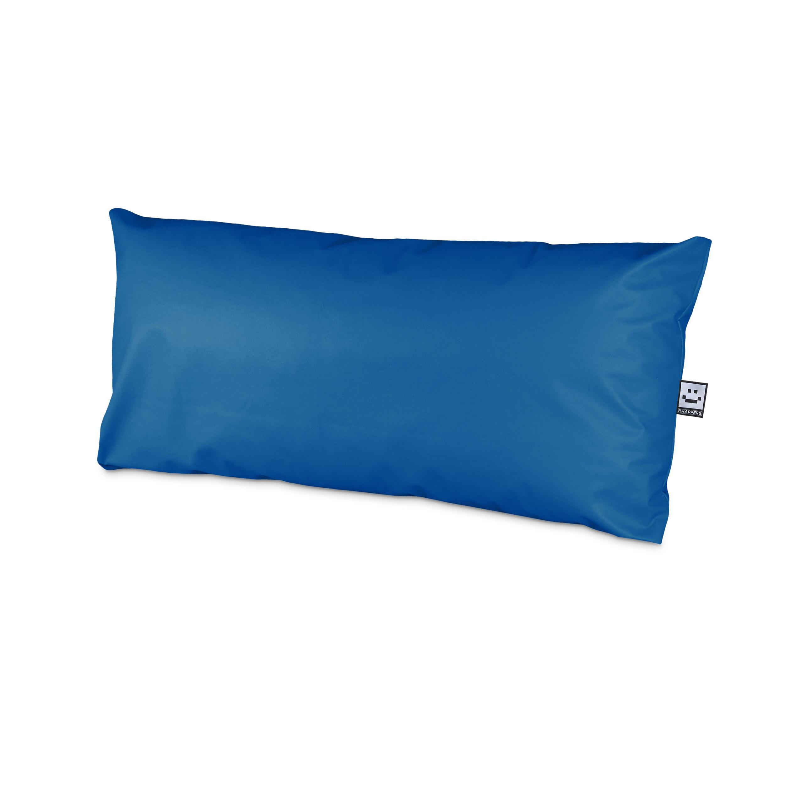 Set de Cojines Impermeables y Desenfundables para Palet en Polipiel Azul (1)
