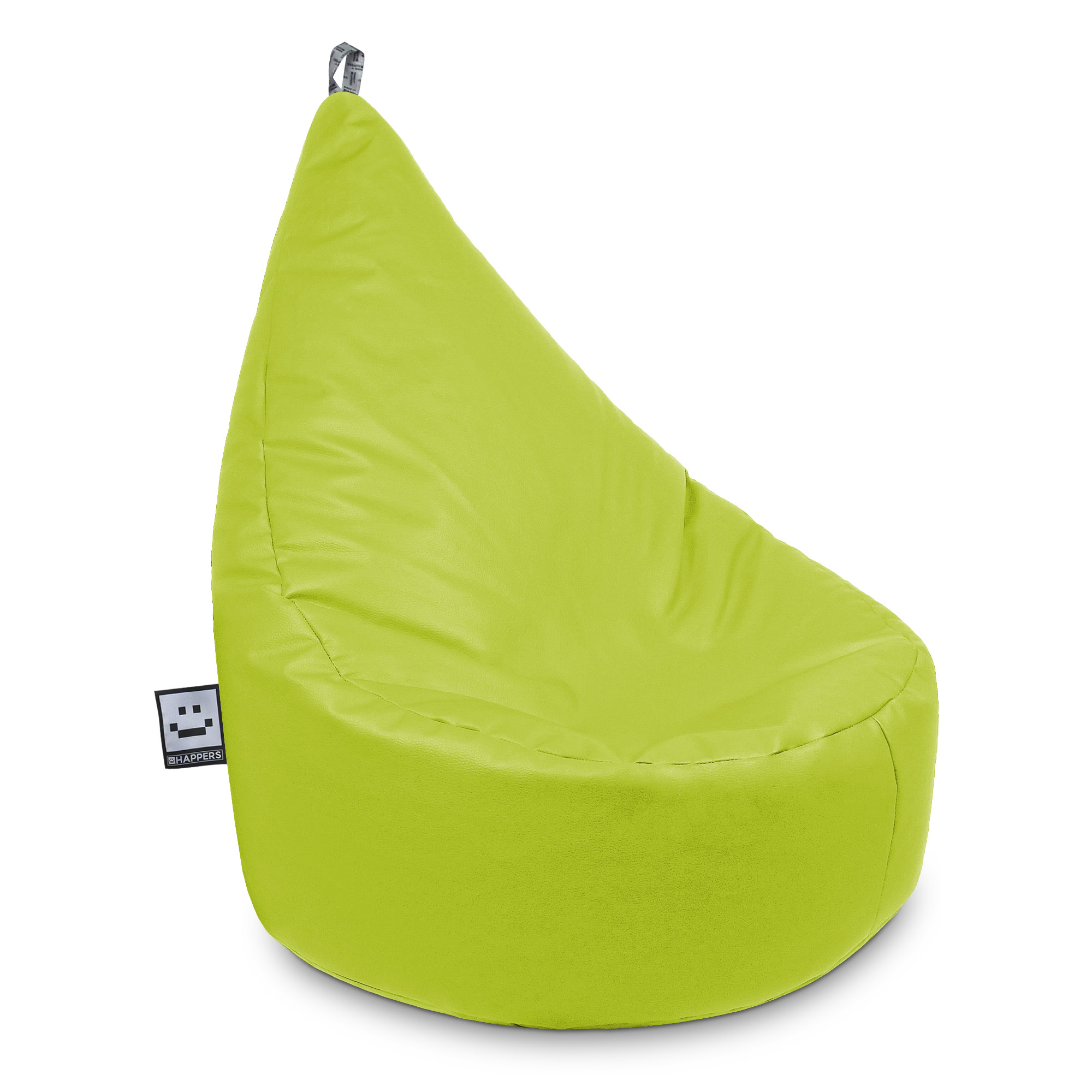 Puff Butaca Polipiel Indoor Verde XL Happers (1)