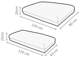 Cojines para Palets impermeables y desenfundables