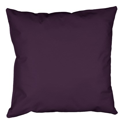 Cojín 45x45 Polipiel Indoor Morado Happers | Happers.es