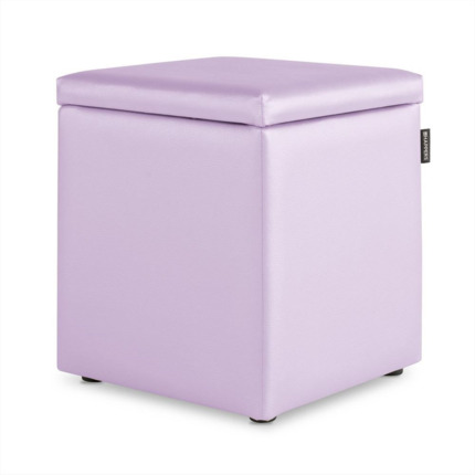 Puff Cubo Arcon Polipiel Indoor Malva Happers | Happers.es