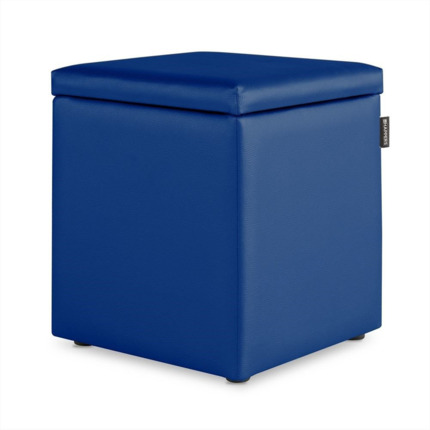 Puff Cubo Arcon Polipiel Outdoor Azul Happers | Happers.es