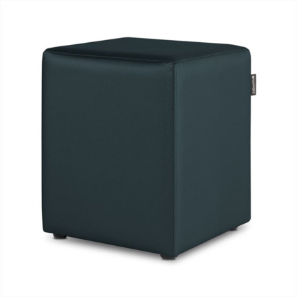 Puff Cubo Polipiel Indoor Antracita Happers | Happers.es