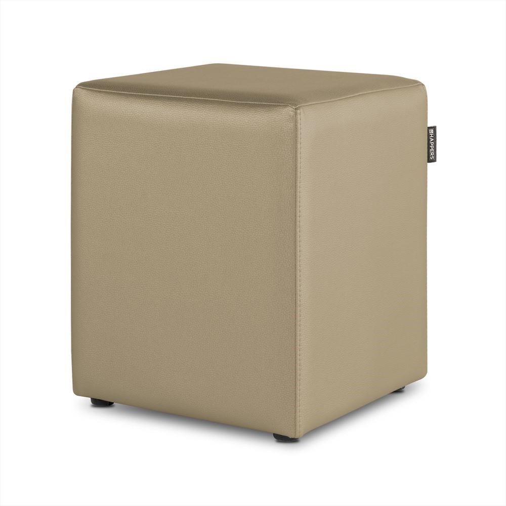 Puff Cubo Polipiel Indoor Bison Happers
