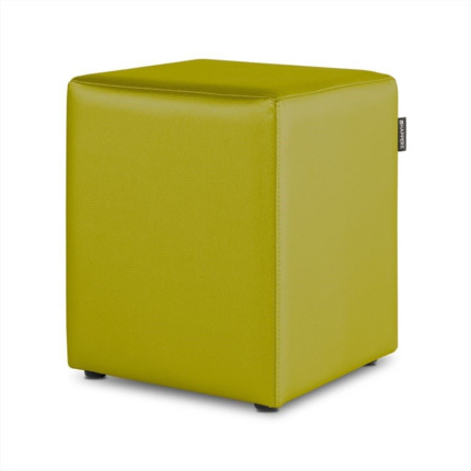 Puff Cubo Polipiel Indoor Pistacho Happers | Happers.es