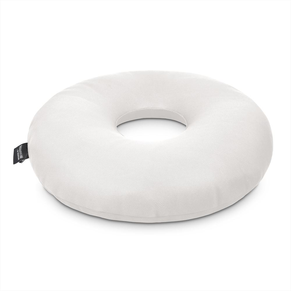 Puff Donut Transpirable 3D Blanco Happers