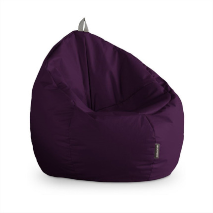 Puff Junior Polipiel Indoor Morado Happers | Happers.es