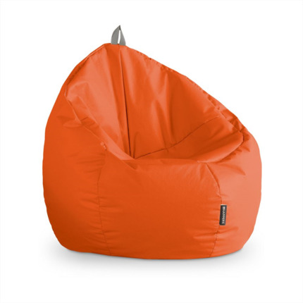 Puff Junior Polipiel Indoor Naranja Happers | Happers.es