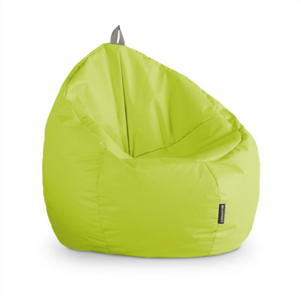 Puff Junior Polipiel Indoor Verde Happers | Happers.es