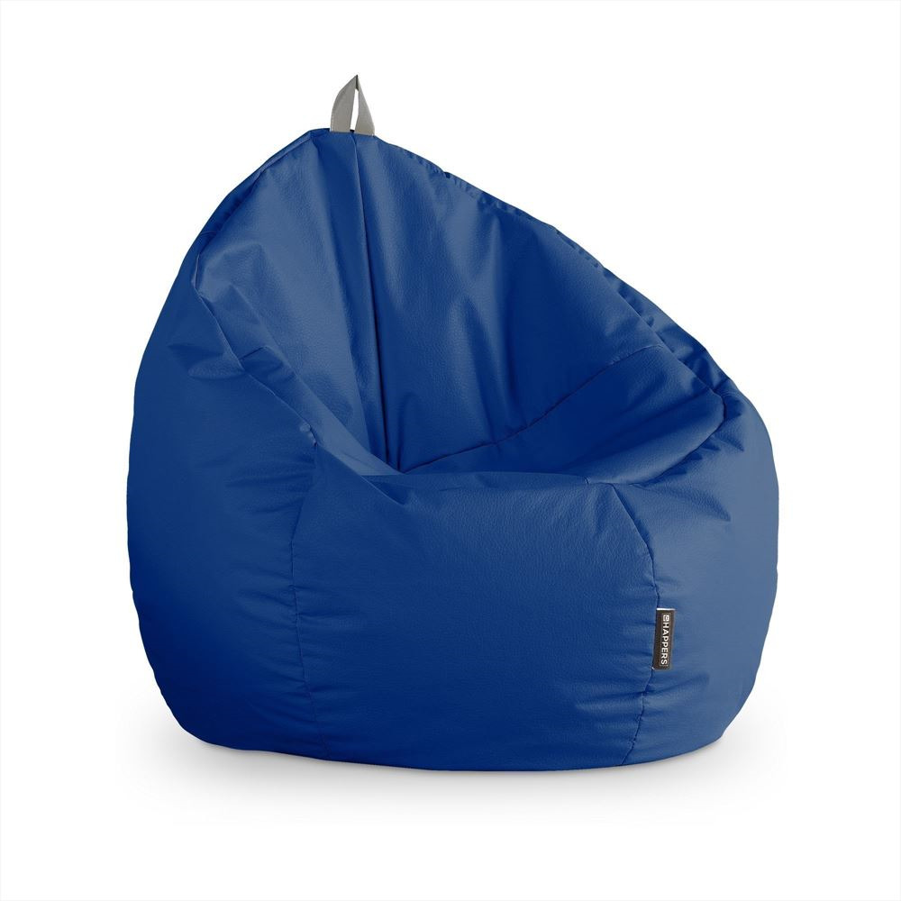 Puff Junior Polipiel Outdoor Azul Happers