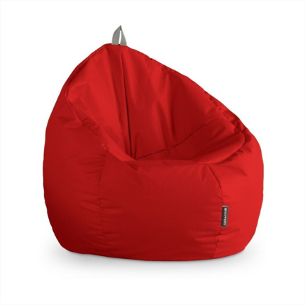 Puff Junior Polipiel Outdoor Rojo Happers | Happers.es