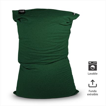 Puff Lavable Longo Verde Happers | Happers.es