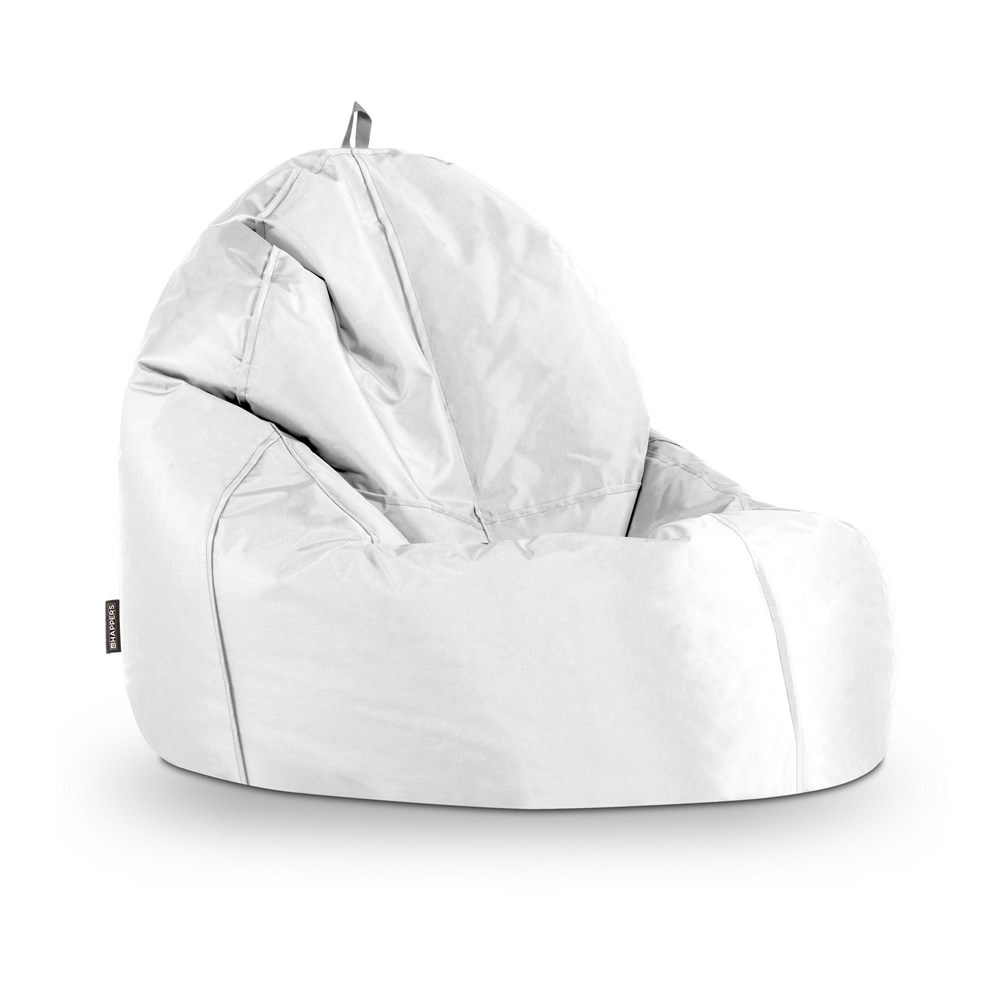 Puff Lounge Naylim Impermeable Blanco Happers