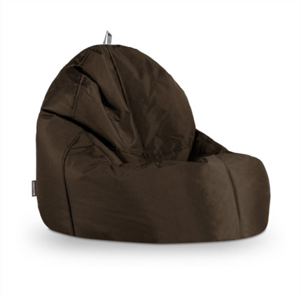 Puff Lounge Naylim Impermeable Marrón Happers | Happers.es