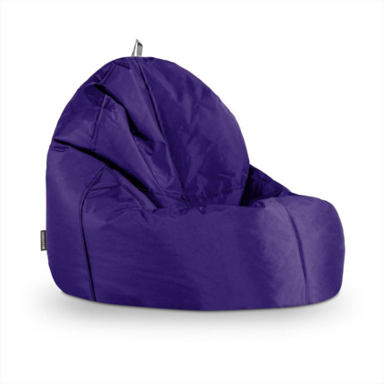Puff Lounge Naylim Impermeable Morado Happers | Happers.es