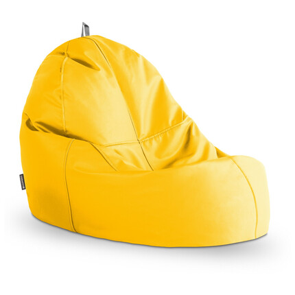 Puff Lounge Polipiel Indoor Amarillo Happers | Happers.es