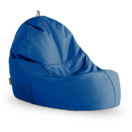 Puff Lounge Polipiel Indoor Azul Happers | Happers.es