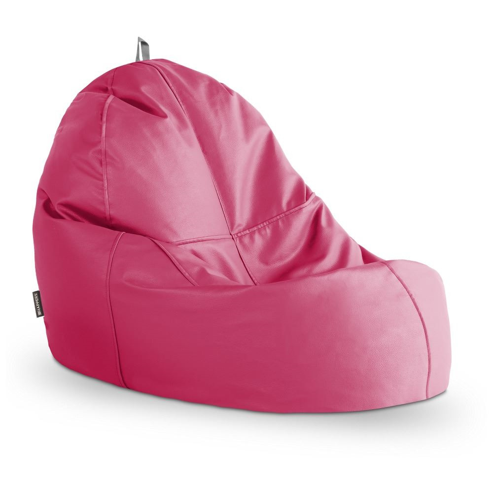 Puff Lounge Polipiel Indoor Fucsia Happers