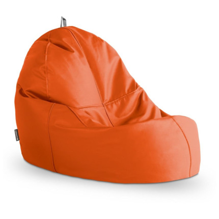 Puff Lounge Polipiel Indoor Naranja Happers | Happers.es