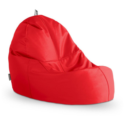 Puff Lounge Polipiel Indoor Rojo Happers | Happers.es