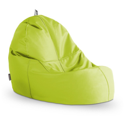 Puff Lounge Polipiel Indoor Verde Happers | Happers.es