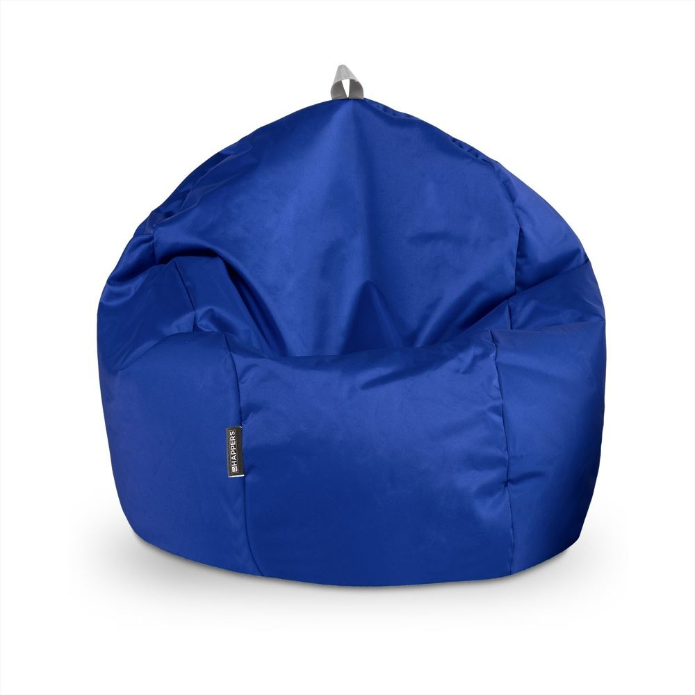 Puff Pelota Naylim Impermeable Azul Happers