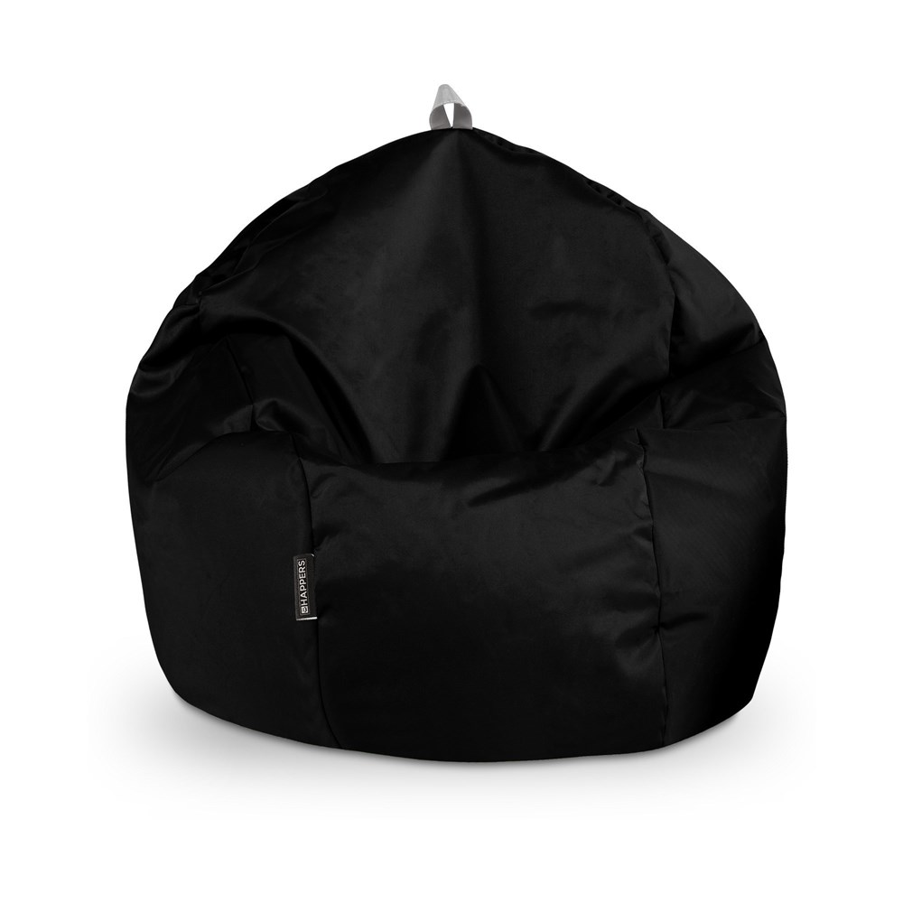 Puff Pelota Naylim Impermeable Negro Happers