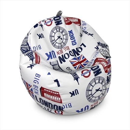 Puff Pelota Polipiel Indoor Polipiel London Happers | Happers.es