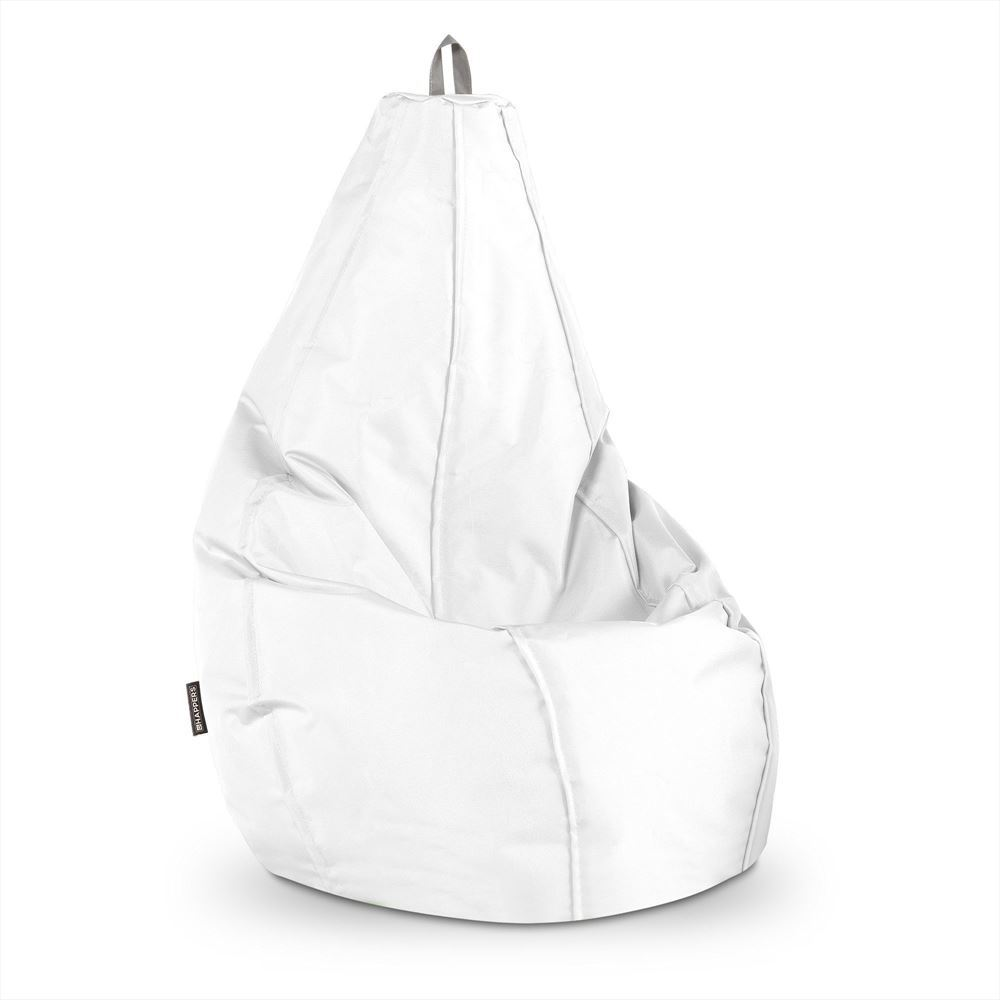 Puff Pera Naylim Impermeable Blanco Happers