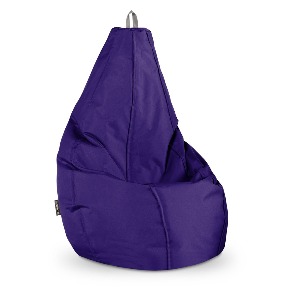 Puff Pera Naylim Impermeable Morado Happers