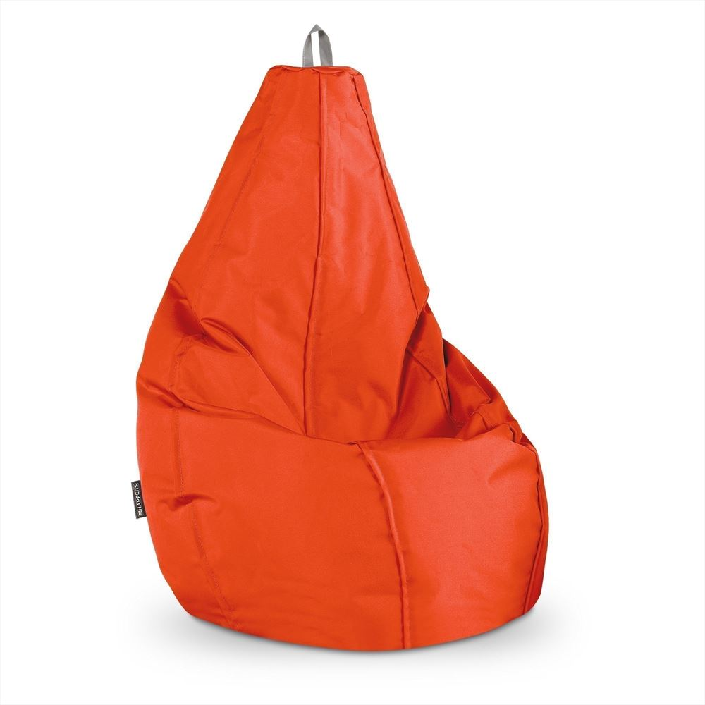 Puff Pera Naylim Impermeable Naranja Happers