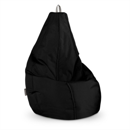 Puff Pera Naylim Impermeable Negro Infantil Happers | Happers.es