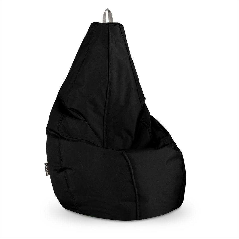 Puff Pera Naylim Impermeable Negro Happers