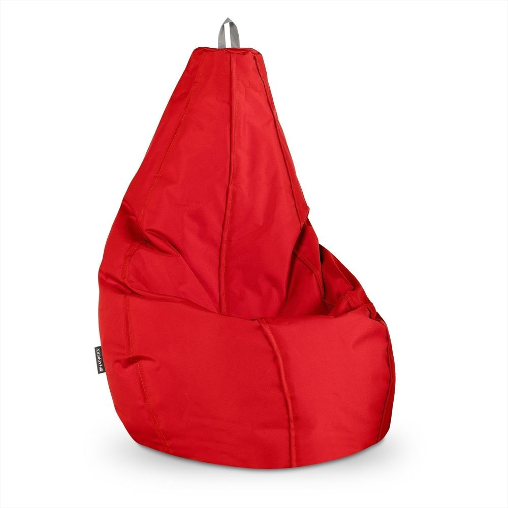 Puff Pera Naylim Impermeable Rojo Happers