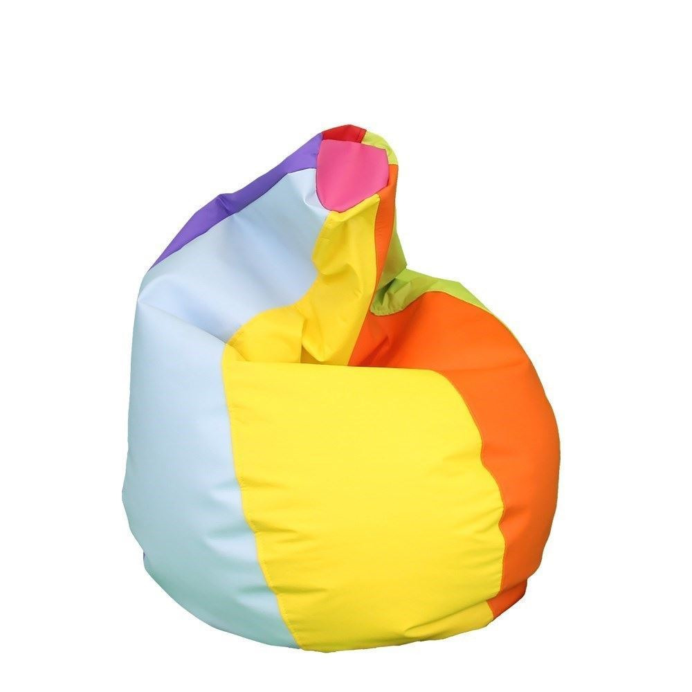 Puff Pera Polipiel Indoor Multicolor Happers