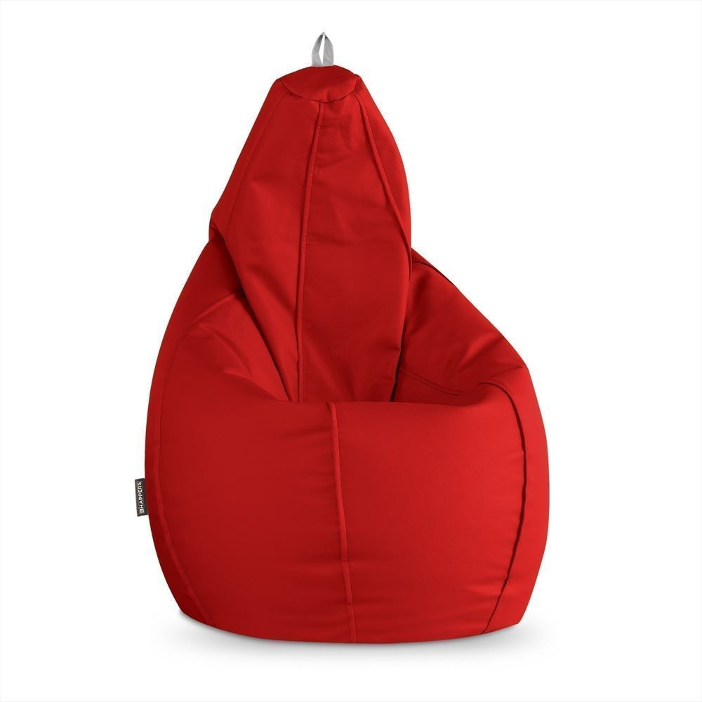 Puff Pera Polipiel Outdoor Rojo Happers