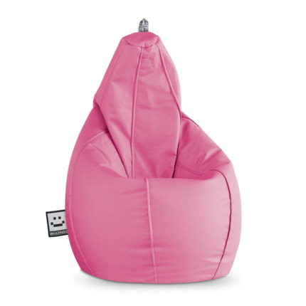 Puff Pera Polipiel Outdoor Rosa Happers | Happers.es